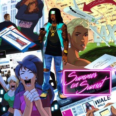 Wale-Summer-On-Sunset-mixtape-cover-art